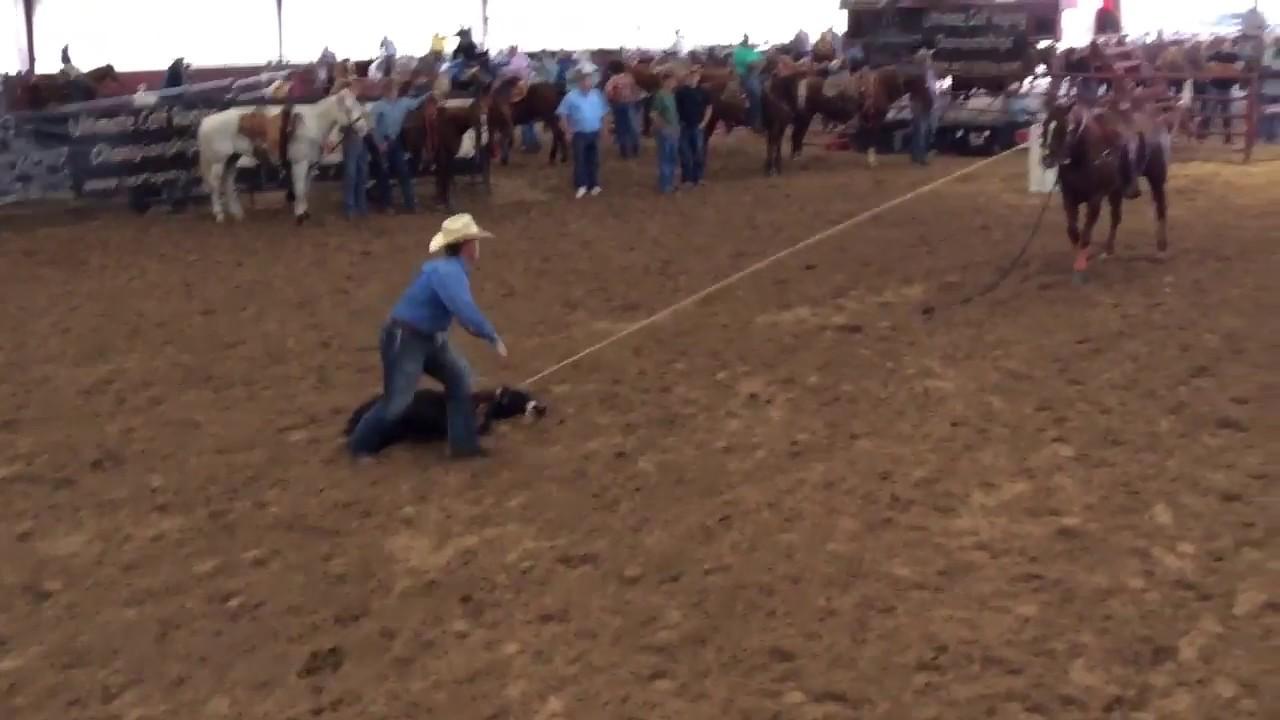 Bad Ass Run By Wyatt Imus At Texas Rodeo Youtube
