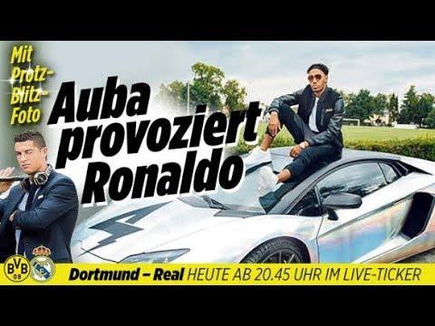 BVB-Auba provoziert Ronaldo / Nackt-Werbung / Love Island - Aktuelle News 26.09.17