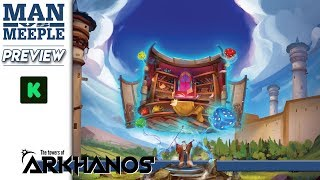 The Towers of Arkhanos Preview by Man Vs Meeple