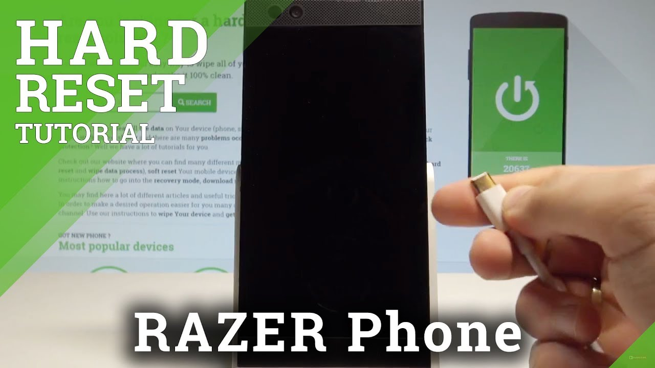 How to Hard Reset RAZER Phone by Recovery Mode / Screen Lock Removal  |HardReset Info