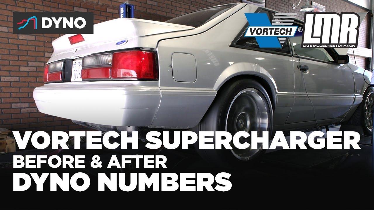 Fox Body Mustang Vortech Supercharger Dyno