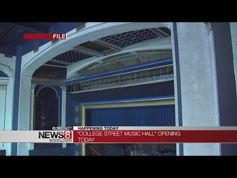 College Street Music Hall opens this weekend