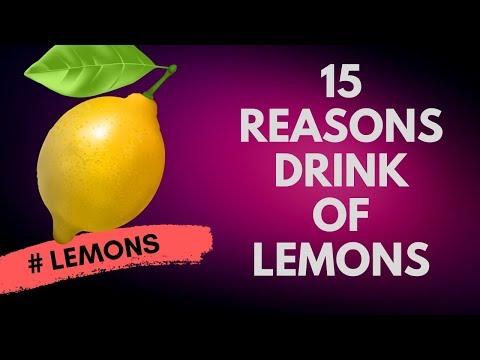 15 Reasons To Drink Lemon Water   Many Qualities Of Lemon Juice