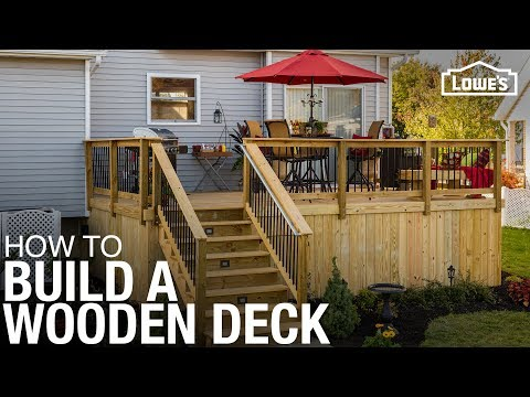 Learn How To Build a Deck with Wood | DIY Projects