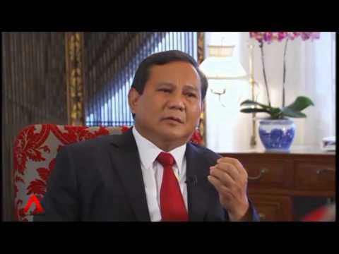 Interview- Prabowo Subianto