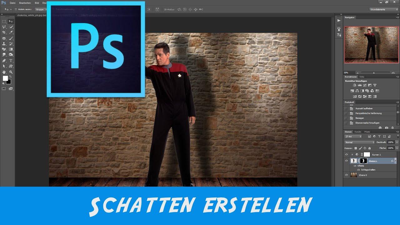 photoshop objekt schatten erstellen