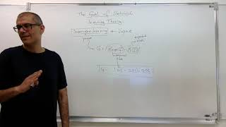 (In English) Video 01: Statistical Learning Theory: Part 1 – Introduction