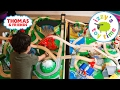 Thomas and Friends | Thomas Train Double Table with Trackmaster | Fun Toy Trains for Kids video & mp3
