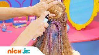 كيفية جعل نجم تسريحة    نمط الملفات الشعر التعليمي | يوم مشمس | نيك الابن.