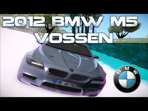 GTA San Andreas Mods - 2012 BMW M5 Vossen [IVF][CAR][HQ][HD]