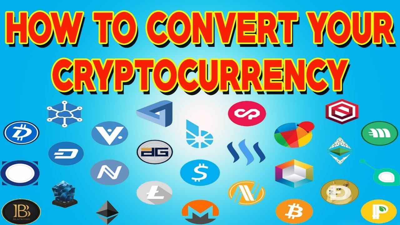 how to convert cryptocurrency