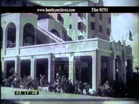 Bahamas in the West Indies, 1920's.  Film 90701