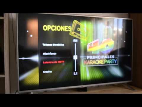 Ajustar Latencia Micros karaoke PS3 En juegos como la voz o 40 principales