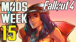 FALLOUT 4 MODS - WEEK 15 Loving Piper, Bot Followers, New Scopes More