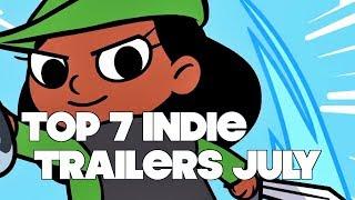 Baixar Top 7 Best Looking Indie Game Trailers - July 2017
