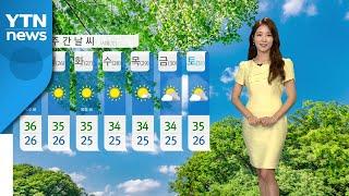 [날씨] 역대급 더위 찾아온다…서울 '37도'까지 올라…