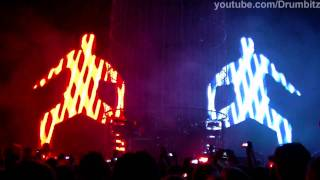 [FHD] The Chemical Brothers - Another World + Do It Again + Horse Power @ Live In Moscow  2011