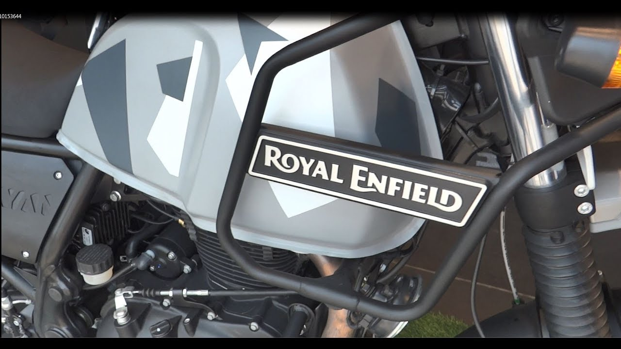 Royal Enfield Himalayan Sleet Edition Walkaroundonly 500 With