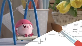 МАЛЫШАРИКИ - Вертушки - Мультик Раскраска с Малышариками - Учим Цвета с детьми - развивающее видео