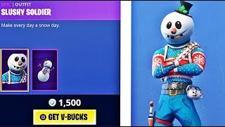 ❄️*NEW* SLUSHY SOLDIER SKIN + ICICLE PICKAXE! GRIND TO 1K! FORTNITE BATTLE ROYALE!❄️