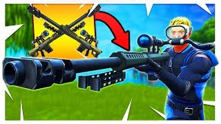 You HAVE to Use This NEW Heavy Sniper Combination Strategy! - PS4 Fortnite *Heavy Sniper Gameplay*