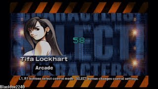 Ehrgeiz: God Bless the Ring Tifa Lockhart Playthrough (HD)