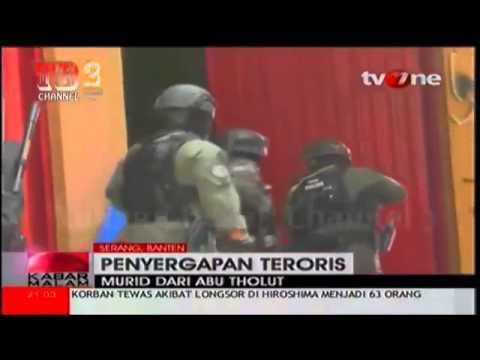 Video Amatir DENSUS 88 Grebek Teroris Serang