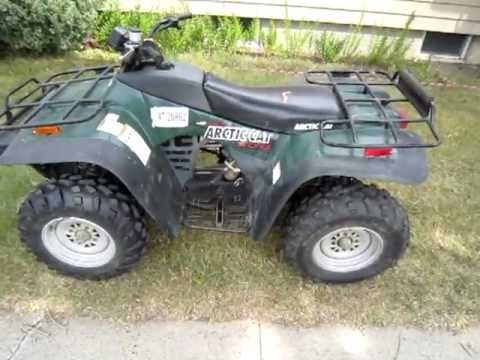 2000 Arctic Cat 300 4x4