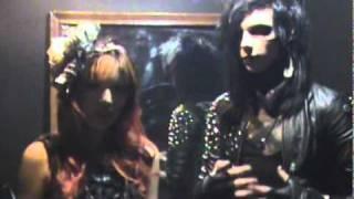 Aural Vampire, Birthday Massacre, Dommin live Seattle concert. Interview, Andy Six Black Veil Brides