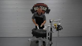 Michelin Anakee III Installation on aluminum BMW -GS Wheel