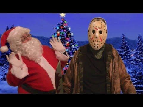 Jason Voorhees Vs Santa Claus - Friday The 13th Christmas