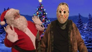 - Jason Voorhees Vs Santa Claus Friday The 13th Christmas