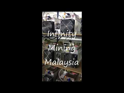 Antminer L3+ 504MH MINING L3+矿工(60 unit Mining Farm )INFINITY MINING MALAYSIA