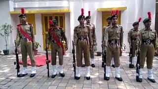 Ncc guard of honour practice
