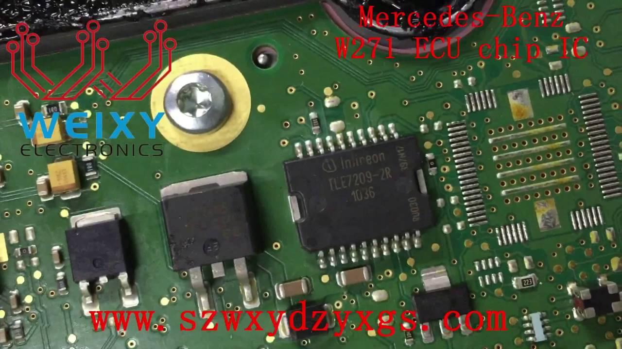 Professional sales mercedes benz w271 ecu chip ic for Mercedes benz ecu repair