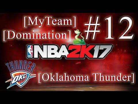 NBA 2K17 [DOMINATION: Oklahoma Thunder]