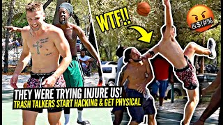 They Were Trying To INJURE Us! Trash Talkers EXPOSED By One Armed Hooper & Nick Briz!