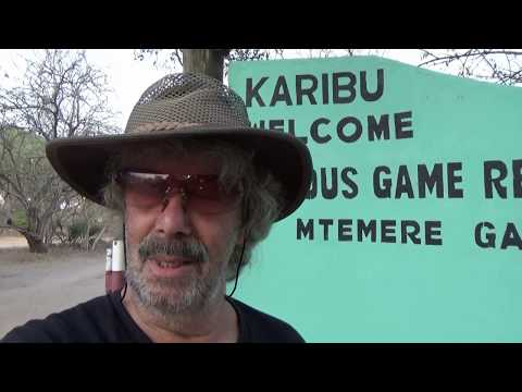 1°parte Viaggio in Tanzania Selous Game Reserve video Pistol