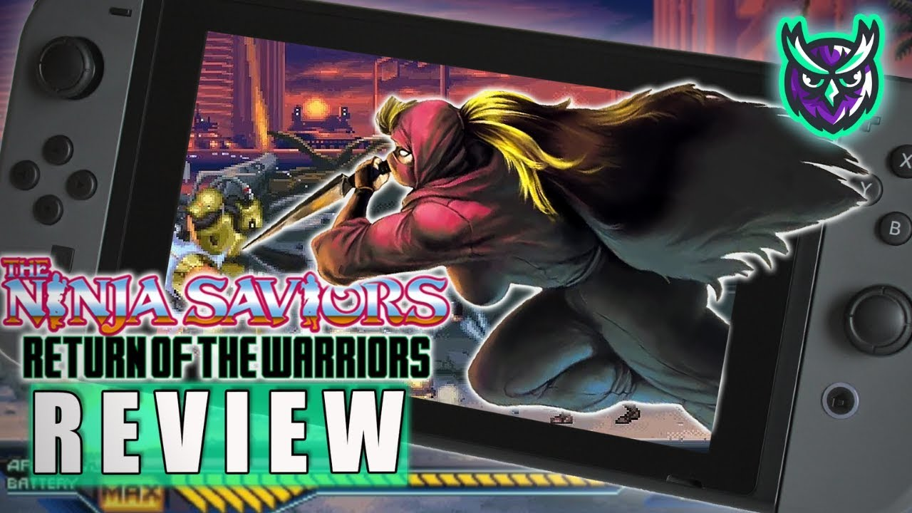 The Ninja Saviors: Return of the Warriors Nintendo Switch Review (Video Game Video Review)