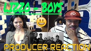 Lizzo - Boys Producer Reaction