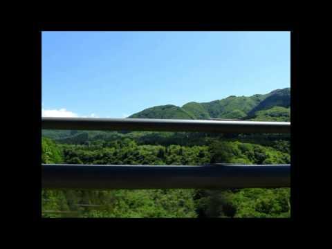 秋保大橋(あきうおおはし)欄干から