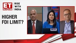 Higher FDI limit 'insured'? | Kotak's Mahesh Balasubramanian & PwC's Joydeep Roy to ET NOW