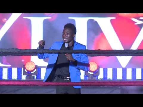 Video (stand up): Comedian Princewill at AY Live