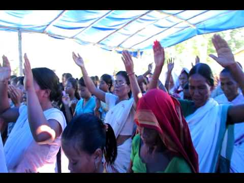Jesus Compassion Ministries 2012 22-24 Oct Youth Meeting  Chakabaha Assam