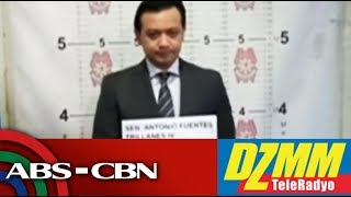 WATCH: Korte nag-isyu ng arrest warrant laban kay Trillanes | 25 September 2018