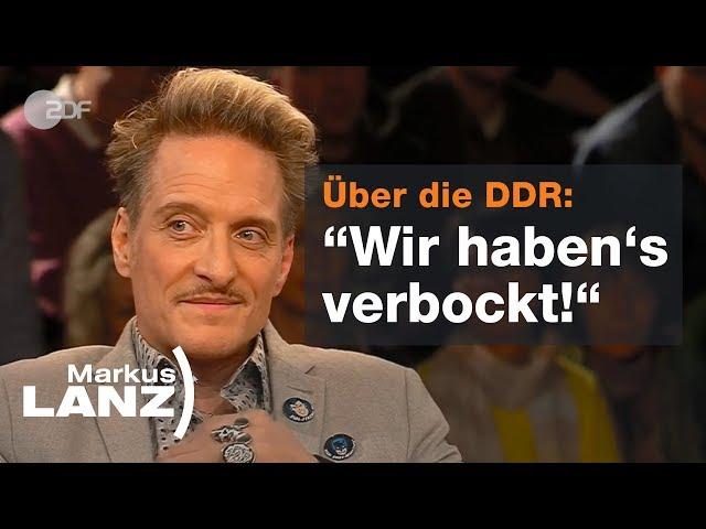 Bela B - Vom Ärzte-Punker zum Heimatroman-Autor  - Markus Lanz vom 26.02.19   ZDF