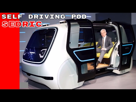 VW Group Sedric Concept Self Driving Pod