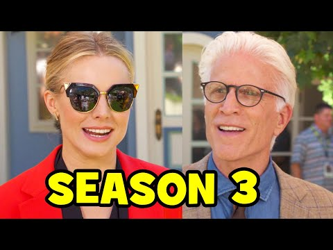 THE GOOD PLACE SEASON 3 Comic Con s  Kristen Bell, Ted Danson