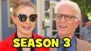 THE GOOD PLACE SEASON 3 Comic Con Interviews - Kristen Bell, Ted Danson