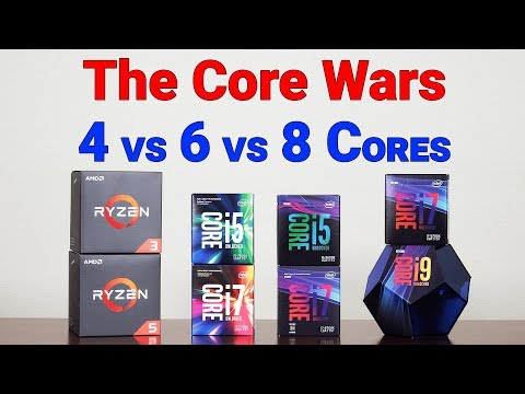 How Many Cores Do You REALLY Need? — 4 Vs 6 Vs 8 Cores — Begun, The Core Wars Have...